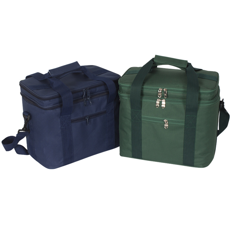 17L Lunch Bags Insulated Solid Thermal Lunchbox Food Picnic Bag Cooler Tote Handbags for Men Women Family Picnic Bag sannen 7l double decker cooler lunch bags insulated solid thermal lunchbox food picnic bag cooler tote handbags for men women