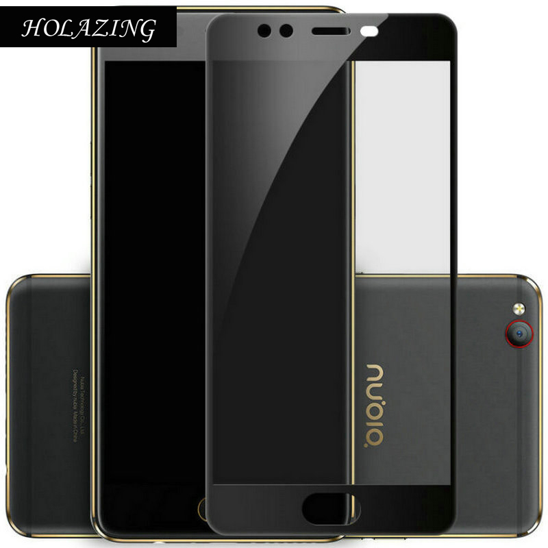 "HOLAZING Wholesale Full Body 2.5D Anti-Scratch Prefmium Tempered Glass Screen Protector For ZTE Nubia M2 Lite 5.5"" Film"
