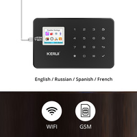 KERUI W18 WiFi GSM Wireless burglar alarm Home Security Alarm System Android IOS APP Control dial SMS Protection house