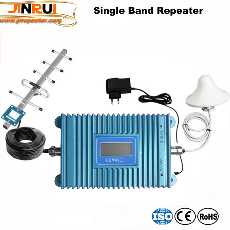 LCD Display!!70dB CDMA Mobile Signal Amplifier Repetidor De Celular 850 Mhz Signal Repeater Gsm 850mhz Cell Phone Signal Booster