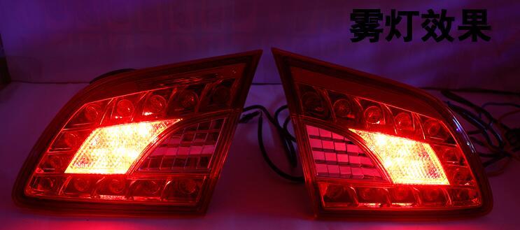 Fanale Posteriore a Led, Luce di Freno, Luce di Marcia Diurna, lampada Della Nebbia per Nissan Sentra Sylphy 2012 2013 2014 2015 - 3