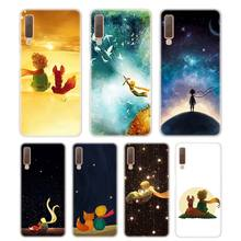 Silicone Phone Case The Little Prince With the fox Printing for Samsung Galaxy A8S A9 A8 Star A7 A6 A5 A3 Plus 2018 2017 2016 Co