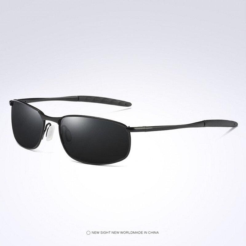 Achat Hommes lunettes de Soleil Polarisées Hommes De Mode Lunettes de Soleil  Alliage Cadre Voyage Conduite Homme Lunettes Oculos UV400 2018 Brand New  Pas ... 6fdfaca837d7