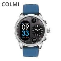 COLMI T3 ספורט היברידי חכם שעון נירוסטה כושר פעילות Tracker IP68 עמיד למים המתנה 15 ימים ברים Smartwatch