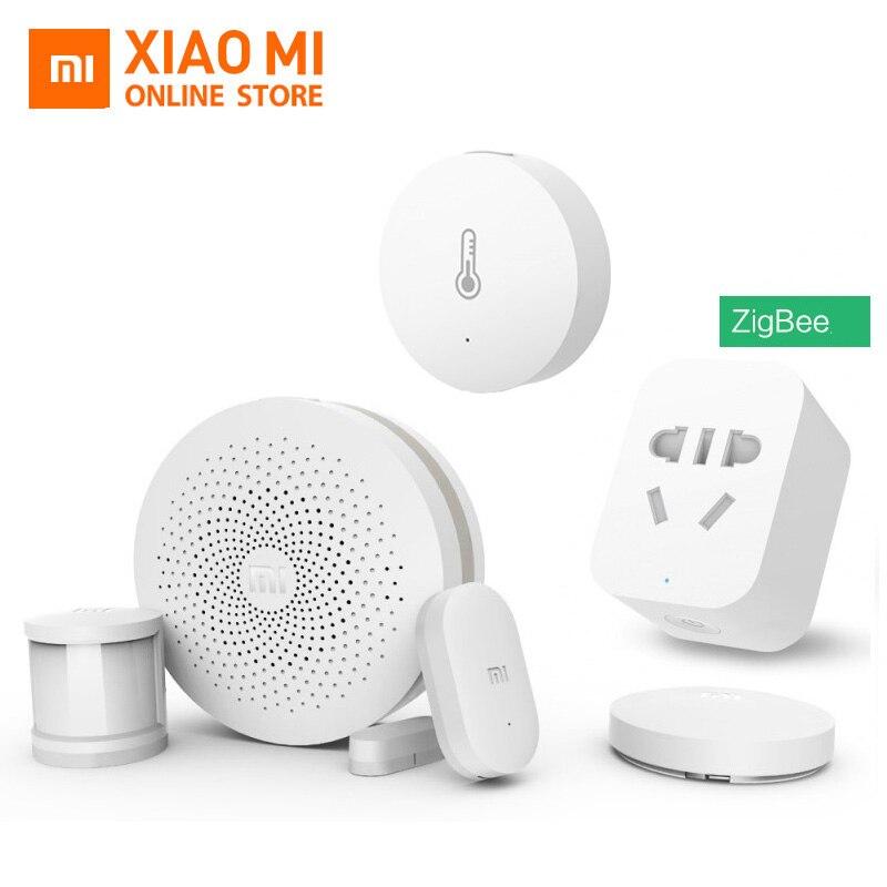 100% Original Xiao Mi Smart-home-kits Gateway Tür Fenster Sensor Menschlichen Körper Sensor Drahtlose Schalter Hu Mi Dity Zigbee Buchse Mi App Warmes Lob Von Kunden Zu Gewinnen