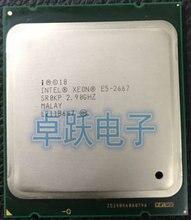 الأصلي إنتل زينون E5 2667 2.9GHz 6 النوى 15 متر 8GT/s LGA2011 130 واط معالج الملقم SR0KP المعالج CPU شحن مجاني