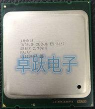 Original Intel Xeon E5 2667 2.9GHz 6 แกน 15M 8GT/S LGA2011 130W โปรเซสเซอร์เซิร์ฟเวอร์ SR0KP โปรเซสเซอร์ CPU จัดส่งฟรี