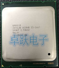 Originele Intel Xeon E5 2667 2.9GHz 6 cores 15M 8GT/s LGA2011 130W Server Processor SR0KP Processor CPU gratis verzending