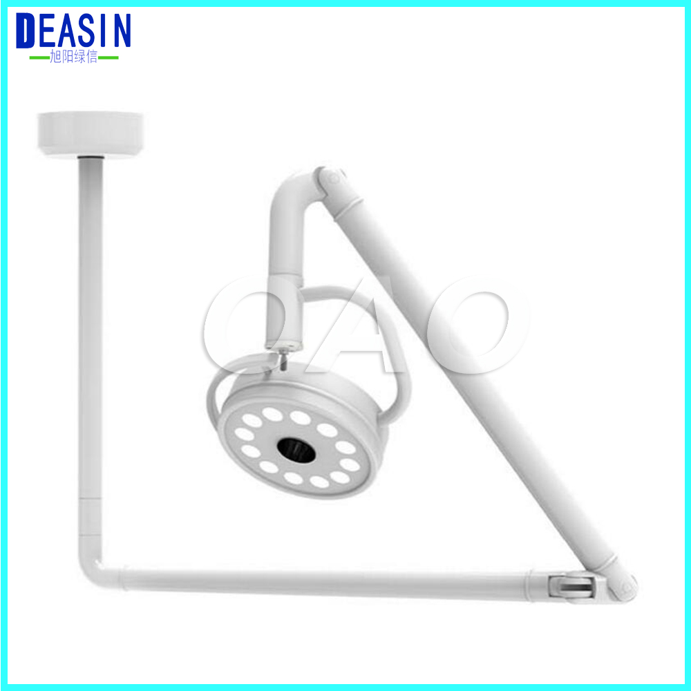 2018 NEW 36W Ceiling Mount LED Surgical Medical Exam Light Dental Shadowless Lamp 360 Rotation CE цена