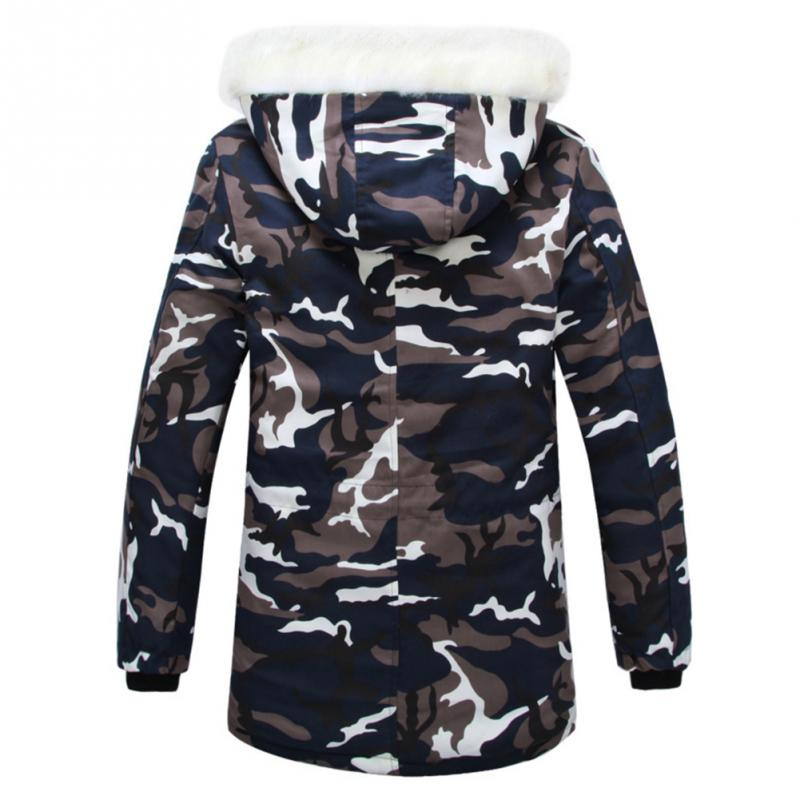 Men Hunter Long Sleeve Hooded Camouflage Down Parkas Big Fur Collar Hunting Jackets Outdoor Sports Thicker Coats 320 240 140mm 2015 high quality ip66 electrical waterproof aluminium enclosure box with 4 screws
