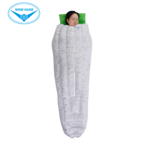 Image 3 - AEGISMAX WIND HARD TINY Outdoor Camping Ultralight Envelope 850FP Gray Goose Down Can wear type Spring Autumn Sleeping Bag