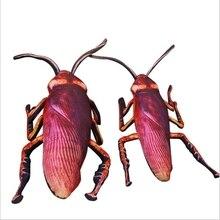 1 шт. 55 см/75 см моделирования таракана плюшевые игрушки забавные насекомых игрушки куклы для детей творческий мягкая подушка Weird подарок на день рождения игрушки