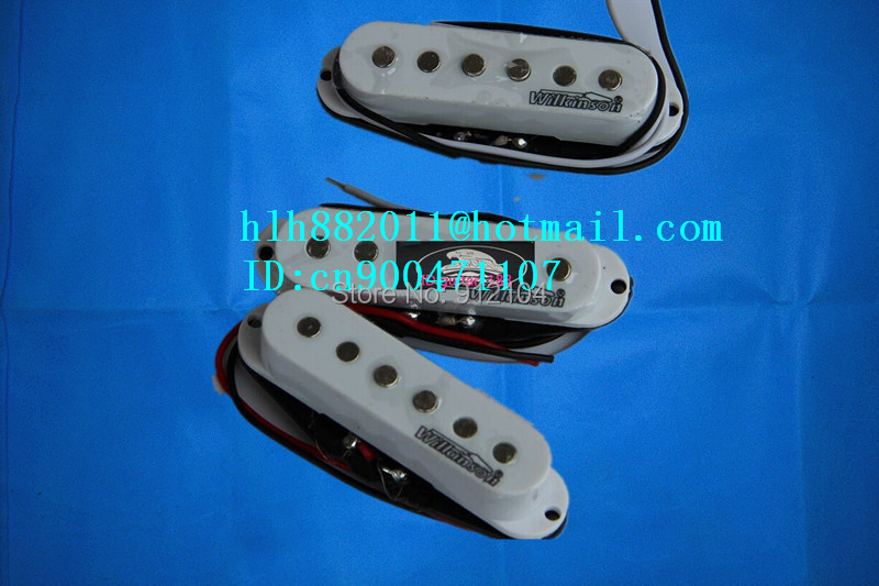free shipping new single wave electric guitar pickup in white   wk-8171 free shipping wilkinson lic vintage single coil pickup fit mwvsn m b