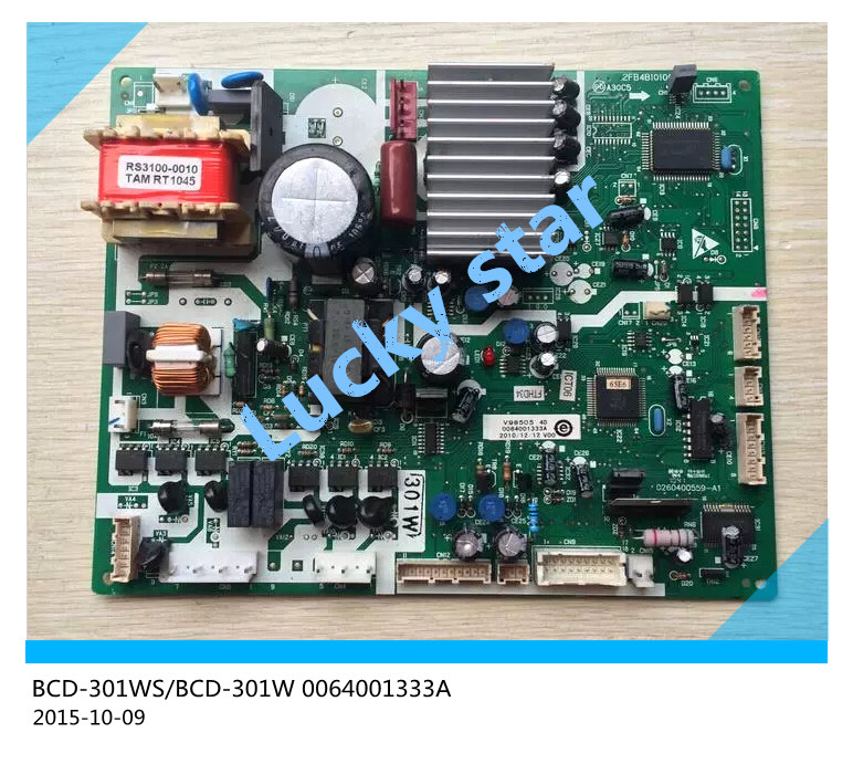98% new for Haier refrigerator computer board circuit board BCD-301WS/BCD-301W 0064001333A driver board good working 95% new for haier refrigerator computer board circuit board bcd 196bd 0064000866 driver board good working