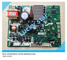 98% new for Haier refrigerator computer board circuit board BCD-301WS/BCD-301W 0064001333A driver board good working