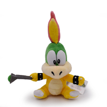 2017 Super Mario Koopalings Lemmy O Koopa Plush Toys Stuffed Soft Dolls Kids Gift 13-19cm Free Shipping