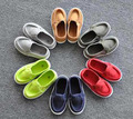 2016 plantilla 13.8to17.8cm niños shoes for baby boys casual shoes girls casual canvas shoes caramelo