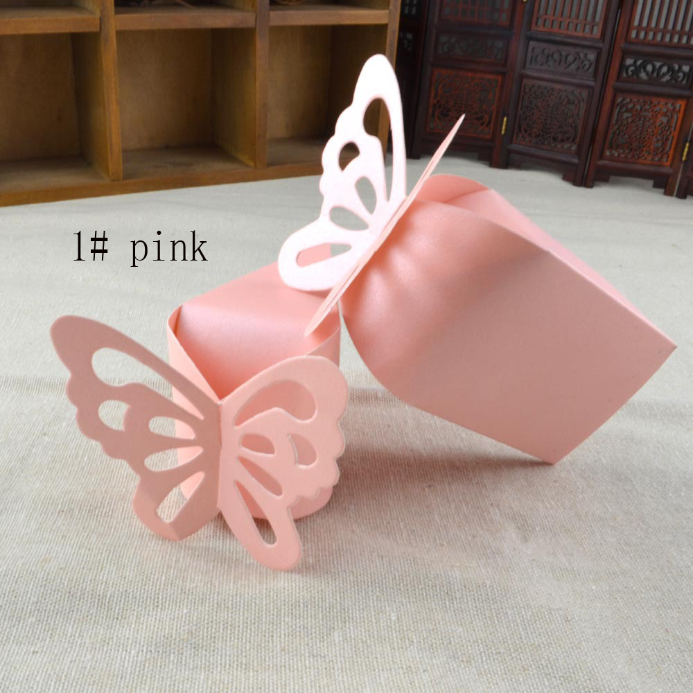 candy box bag chocolate paper gift box small cake butterfly lace ...