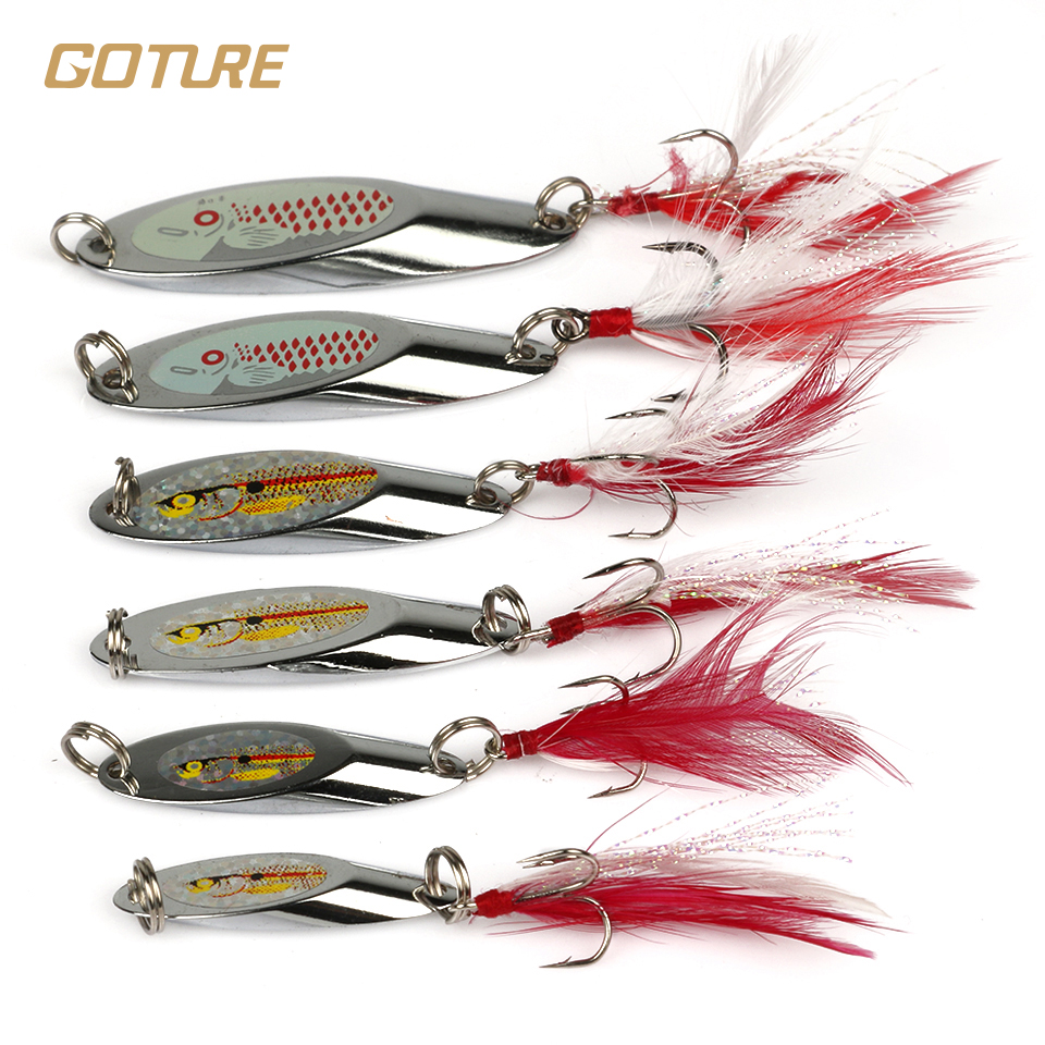 Online buy wholesale trout spoon from china trout spoon for Spinner fishing lures