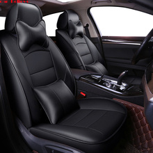 Car Believe leather car seat cover For mitsubishi pajero 4 2 sport outlander xl asx accessories lancer covers for vehicle seat цена в Москве и Питере