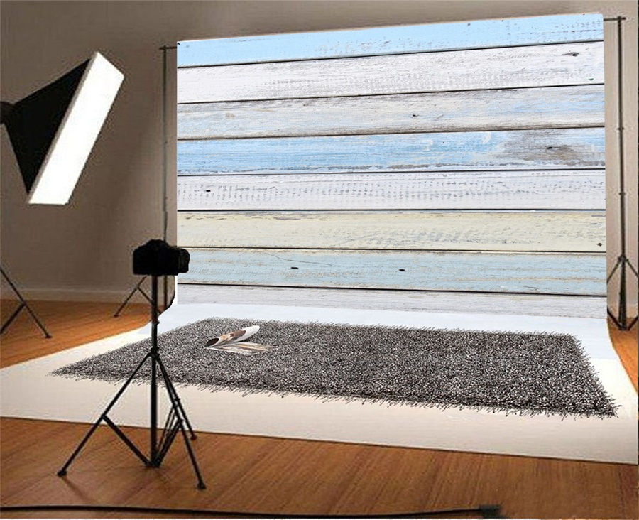 Laeacco Ad Cloth Scene Wall Wood Board Plank Photography Backgrounds Custom Camera Photographic Backdrops Props For Photo Studio in Background from Consumer Electronics