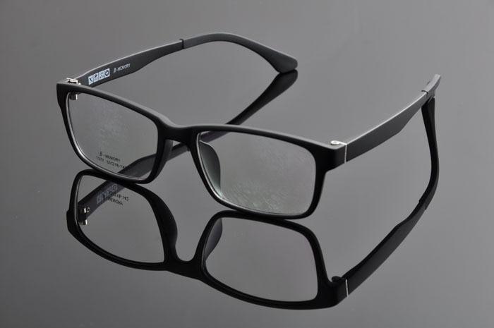 Новые модные очки Ретро винтажные металлические простые оправы оптические очки мужские женские оправа для очков от близорукости oculos de grau DD0877 - Цвет оправы: BLACK