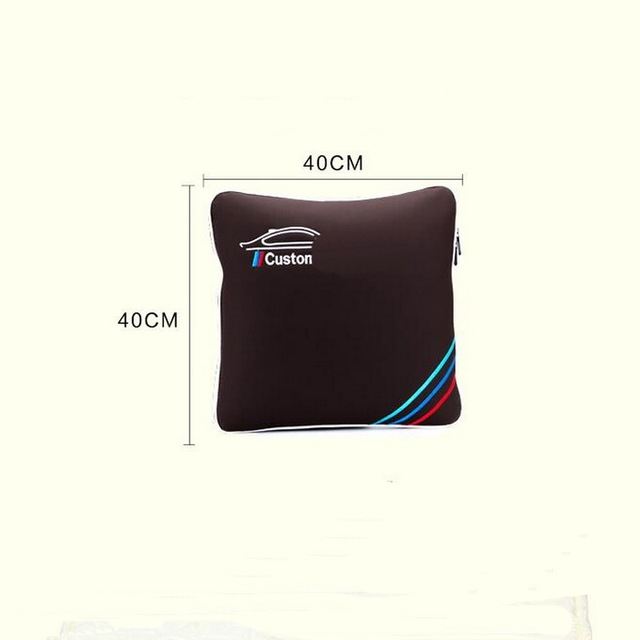 1 PCS Cars Multifunction Dual Pillow Quilt Folded Pillow Cover Case Stickers For Bmw 1 3 5 Series X1 X3 X5X6 M GT Accessories