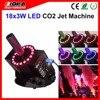 4pcs Lot Led CO2 Jet Machine RGB 3W Leds DMX Disco CO2 Machine CO2 Fog