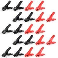 Sale 20 Pcs High Quality 30A Car Battery Clip Alligator Clips Pliers Cables Test