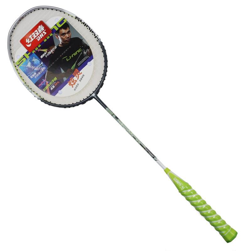Raquette de Badminton DHS tir unique raquette de Badminton en carbone S803 raquette de Badminton Junior Amateur
