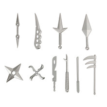 Naruto: Set of 10pcs/set Akatsuki Weapons