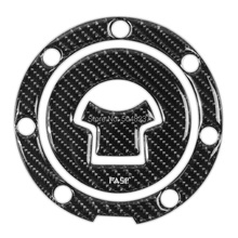 FOR  CBR CB RVF VFR NSR Fuel Tank Cap Decal Pad Sticker Pure Carbon