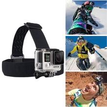 Newest Head Strap  mount For sport Camera Gopro Hero 4 5 Black Elastic Type Sport Action Xiao Mi Yi SJ4000/SJ5000 A