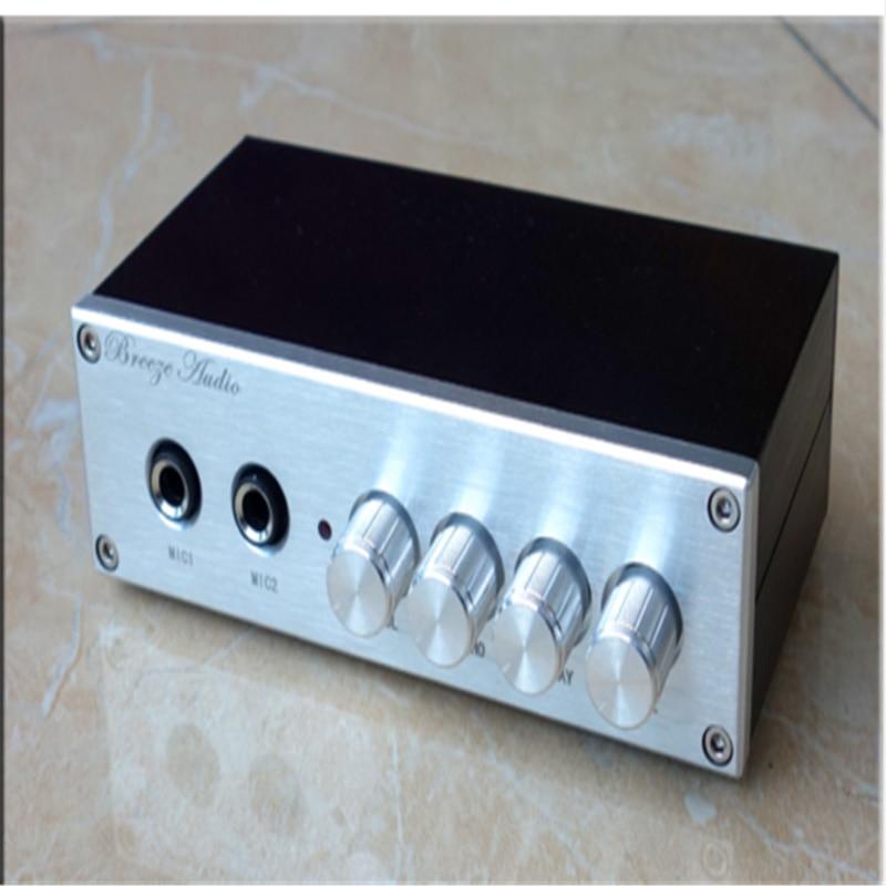 OF1 JRC5532 + PT2399 microphone Mixer karaoke system reverb