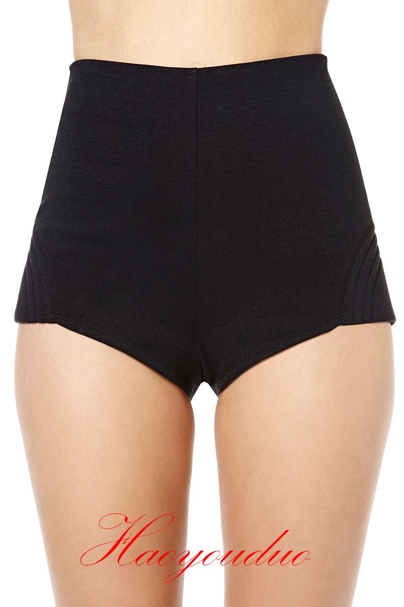 HTB1Rl43QXXXXXcHaXXXq6xXFXXX9 - Sexy Slim Skinny Black Shorts for Women PTC 125