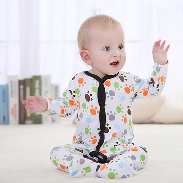 Babykleding Winter.Luvable Vrienden Winter Lente Baby Pyjama Baby Romper Baby Jumpsuit