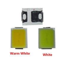 цена на 50-3000 pcs White Warm White 2835 SMD SMT LED 21-23LM 0.2W  LED  Beads Ultra Bright  LED Chip for All Kinds of LED Lamp Light