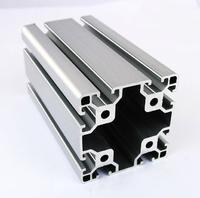 8080 EA Aluminum Profile Extrusion 80 Series Aluminum Tube Length 1 Meter