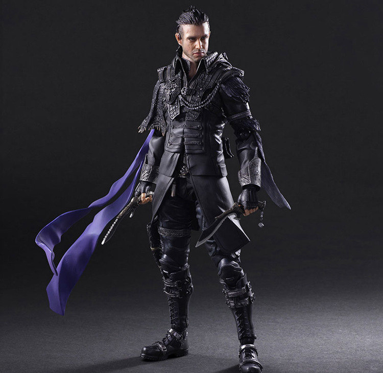 Play Arts Final Fantasy Figure Final Fantasy VII Squall Nyx Ulric Figure PA Play Arts Kai 27cm PVC Action Figure Doll Toys play arts final fantasy figure final fantasy vii sephiroth figure pa play arts kai cloud strife 27cm pvc action figure doll toys
