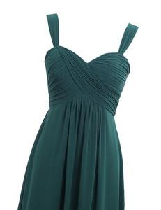 Image 3 - Vestido plissado para dama de honra, vestido plissado para festa de casamento 2020