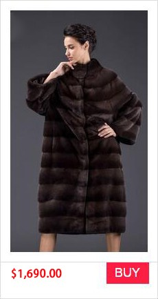 REAL MINK FUR COAT WINTER WOMEN COAT (2)