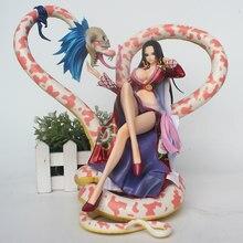 Anime One Piece POP Max Sexy Boa Hancock PVC Action Figure 21cm senza scatola