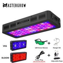 מתג כפול 600W 900W 1200W ספקטרום מלא LED לגדול אור עם וועג/בלום מצבי עבור מקורה חממה לגדול אוהל צמחים לגדול led