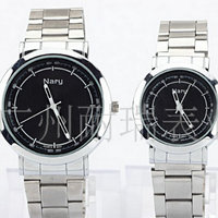 Business casual fashion watch male and female students temperament band outdoor sports with retro couple table