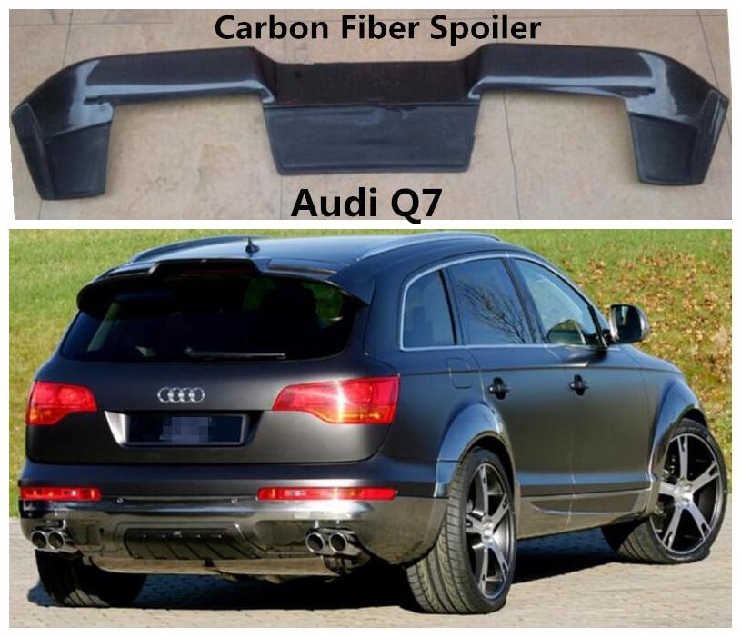 Carbon Fiber Spoiler For Audi Q7 2007 08 09 2010 2011 2012