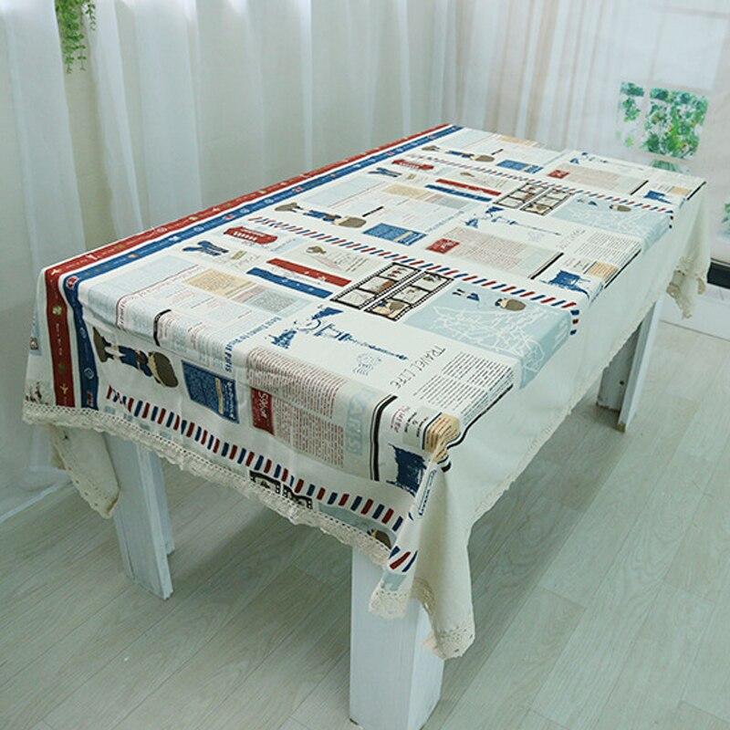 Tablecloth pastoral decoration table cloth crochet leaves - Manteles mesa rectangular ...