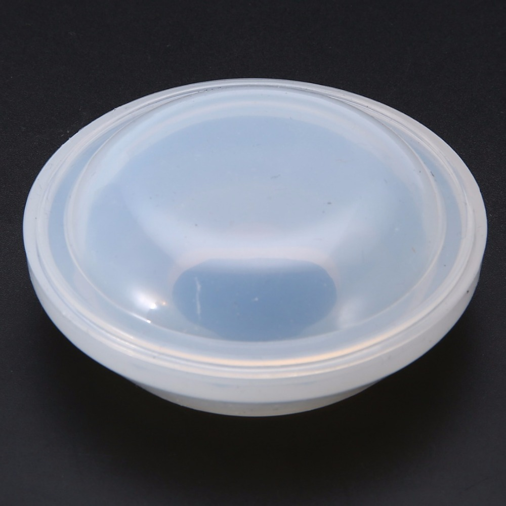 1 Set Transparent Silicone Resin Mold Dishes Bowl Plate Model Making Mould DIY Decorative Jewelry Craft 60*27*15mm Shellhard
