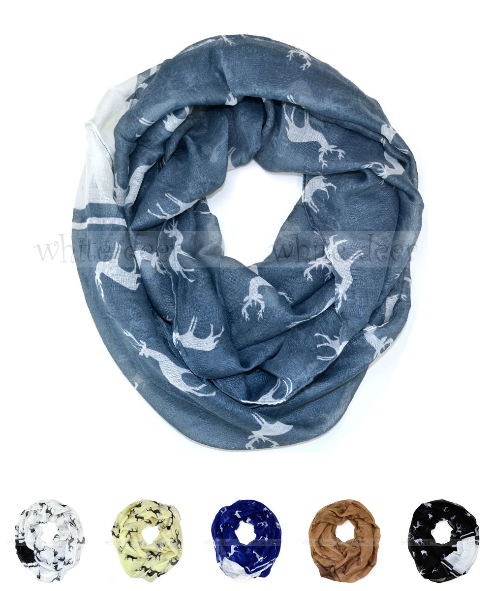 Women/'s Floral Print Large Circle Loop Wrap Infinity Scarf Casual Shawl Wrap