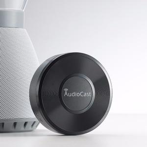 WIFI Динамик Приемник адаптер 3,5 мм 2,4G аудиокаст WIFI музыка Airplay DLNA IOS Android аудио Wireles стерео для iPhone iPad BHM5