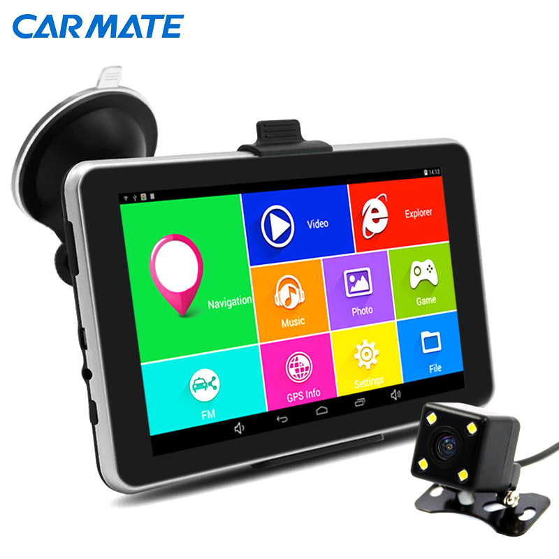 7 inch HD Car font b GPS b font Navigation Android Navigator Rear view Tablet pc